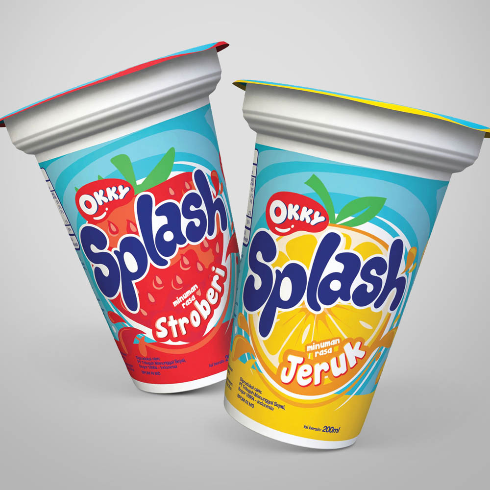 Okky Splash Packaging